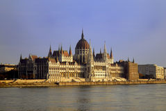 Hungarian house of parliament Stock Image