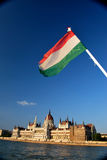 Hungarian image. This picture made in Hungary stock image
