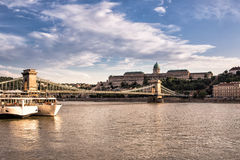 Hungarian Landmarks on the Danube Stock Photography
