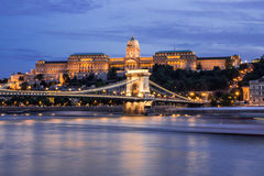 Hungarian Landmarks on the Danube Royalty Free Stock Photos