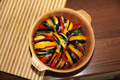 Hungarian Lecho - Ratatouille Stock Photography