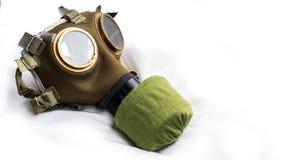 Hungarian M76 Gas Mask Stock Photo