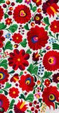 Hungarian Matyo pattern. Detail of traditional Hungarian Matyo embroidery pattern Royalty Free Stock Image