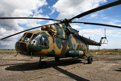Hungarian Mi-17 Helicopter Stock Photo