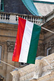 Hungarian national flag Stock Images