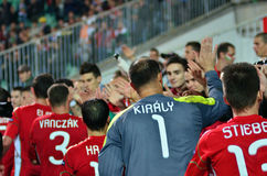 Hungarian national team Stock Images