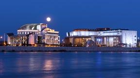 Hungarian national theater Stock Photos