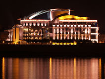 Hungarian National Theatre Stock Photography