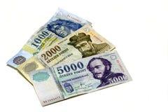 Hungarian notes Stock Photos