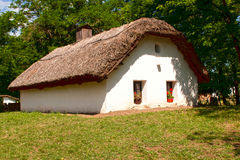 Hungarian old farm-house. Traditional  farm-house in Hungary Stock Image