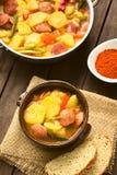 Hungarian Paprikas Krumpli (Potato with Paprika) Royalty Free Stock Images
