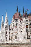 Hungarian Parlament Royalty Free Stock Photography