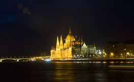 Hungarian parlament Royalty Free Stock Photo