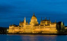Hungarian parlament Stock Photo