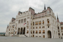 Hungarian Parlament Royalty Free Stock Images