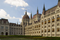 Hungarian Parlament in Budapest Royalty Free Stock Images