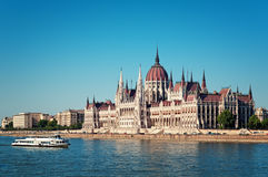 Hungarian Parliament Stock Images