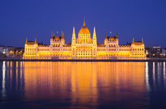 The Hungarian Parliament Stock Images
