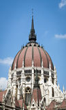 Hungarian Parliament. Main dome in Budapest Stock Image