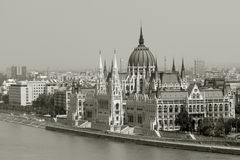 Hungarian parliament Stock Image