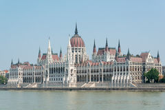 Hungarian parliament Stock Photography