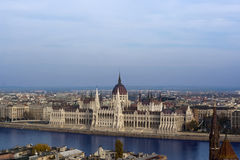 The Hungarian Parliament Royalty Free Stock Photo