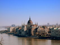 Hungarian parliament Stock Photo