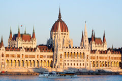 Hungarian parliament Budapest Stock Images