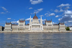 Hungarian Parliament, Budapest Royalty Free Stock Photography