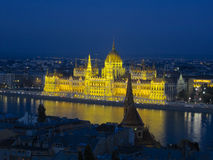 Hungarian Parliament,Budapest Royalty Free Stock Photography