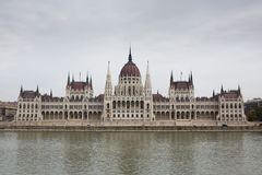 The Hungarian Parliament, Budapest Stock Image