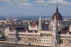 Hungarian Parliament Budapest Stock Image