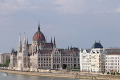 Hungarian Parliament Budapest Stock Photos