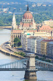 Hungarian Parliament Budapest, Hungary Royalty Free Stock Photography