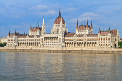 Hungarian Parliament Budapest, Hungary Royalty Free Stock Photos