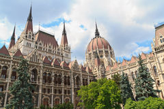 Hungarian Parliament Budapest, Hungary Royalty Free Stock Photo