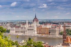 Hungarian parliament Stock Photo