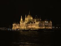 Hungarian Parliament, Budapest, Hungary, Europe Stock Photo
