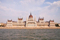 Hungarian parliament, Budapest, Hungary Royalty Free Stock Image