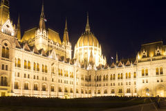 Hungarian Parliament Royalty Free Stock Photo
