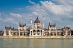 Hungarian Parliament, Budapest Royalty Free Stock Images
