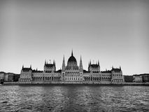 Hungarian Parliament in Budapest. royalty free stock photos