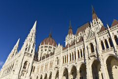 Hungarian parliament building. In Budapest Stock Photos