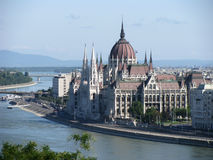 The Hungarian Parliament Building Royalty Free Stock Images