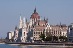 The Hungarian Parliament Building Stock Image