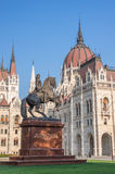 Hungarian Parliament Building Royalty Free Stock Photos