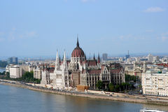 Hungarian Parliament Building Stock Photos