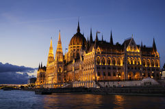 Free Hungarian Parliament Building Stock Photography - 74448532