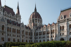 The Hungarian Parliament Building. Also known as the Parliament of Budapest Stock Image