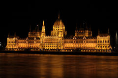 Hungarian parliament building, Budapest Royalty Free Stock Images